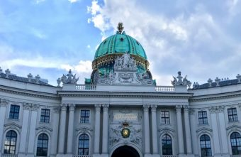 A picture of the palace in Vienna, Austria!