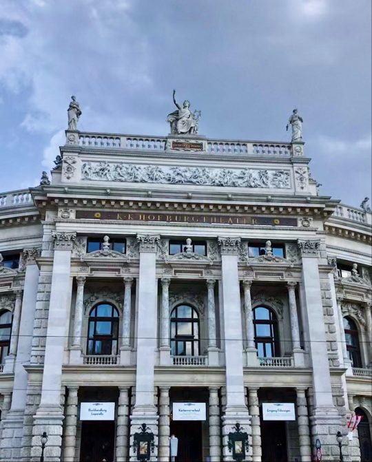 Building in Vienna, Austria