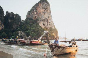 Boats in Ha Long Bay, Vietnam