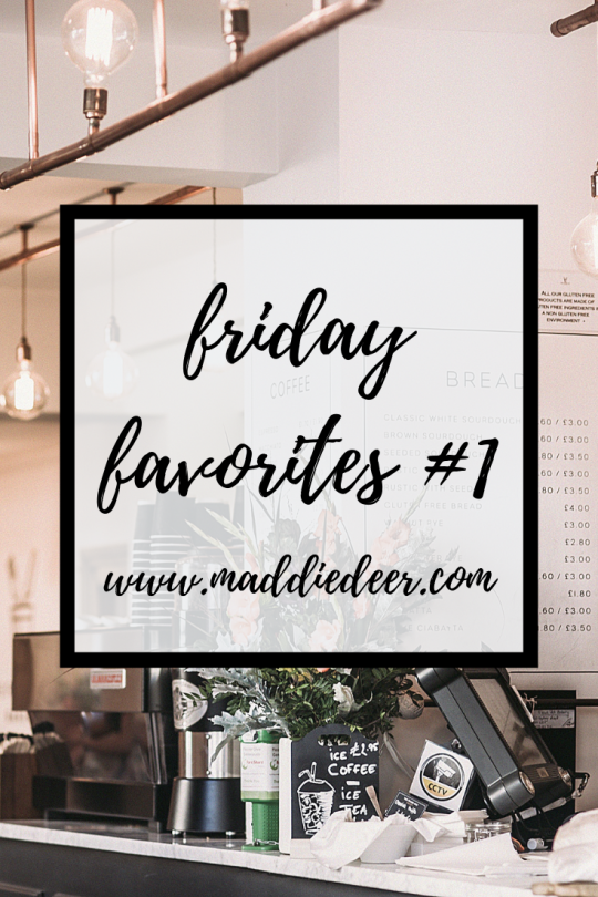 Friday Favorites Pin
