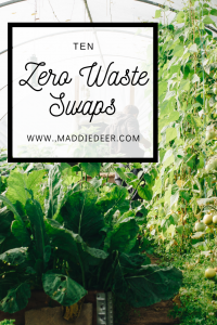 Simple Zero Waste Swaps