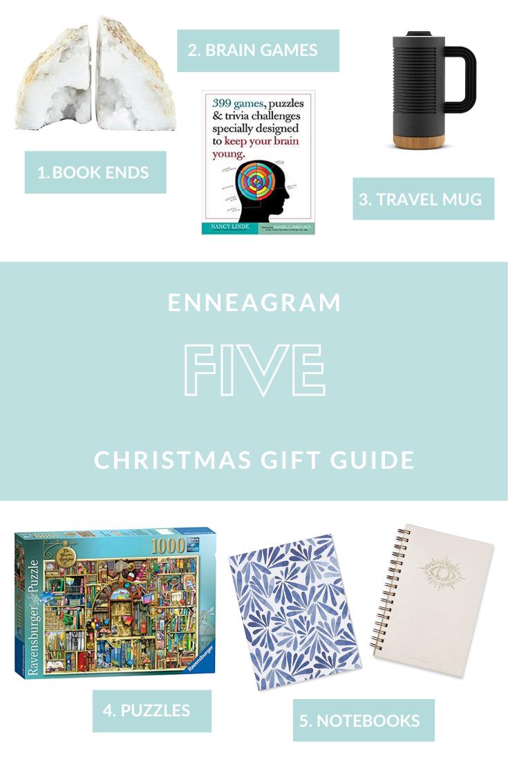 Enneagram 5 Gift Guide