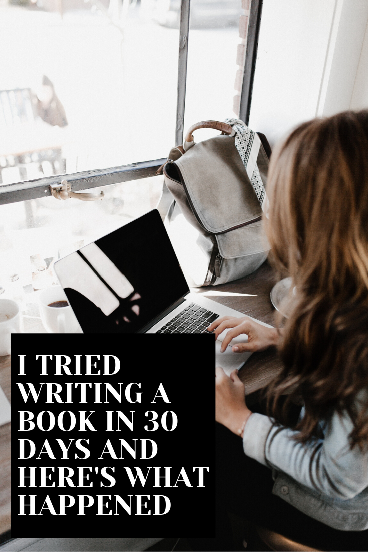 Nanowrimo 2019 Novel in 30 days