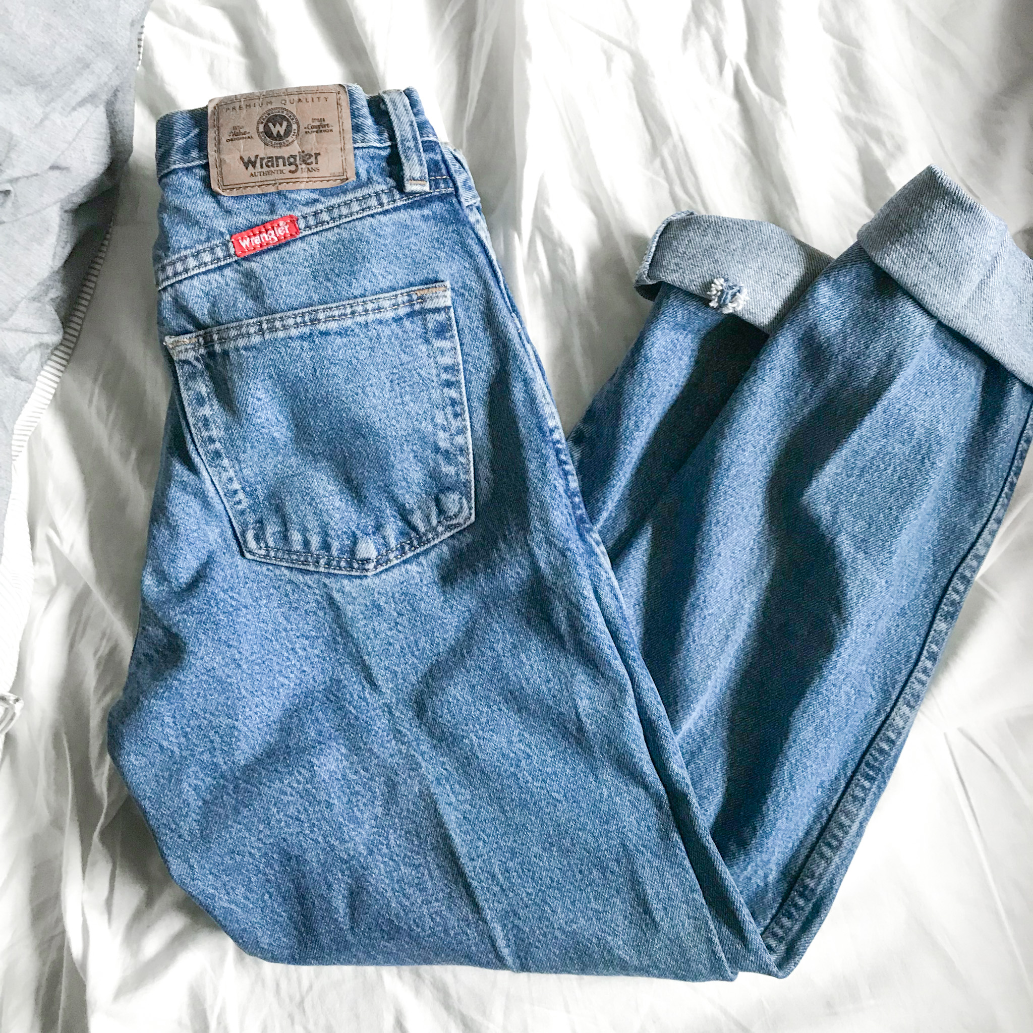 Wrangler Jeans Why You Should Shop Second Hand
