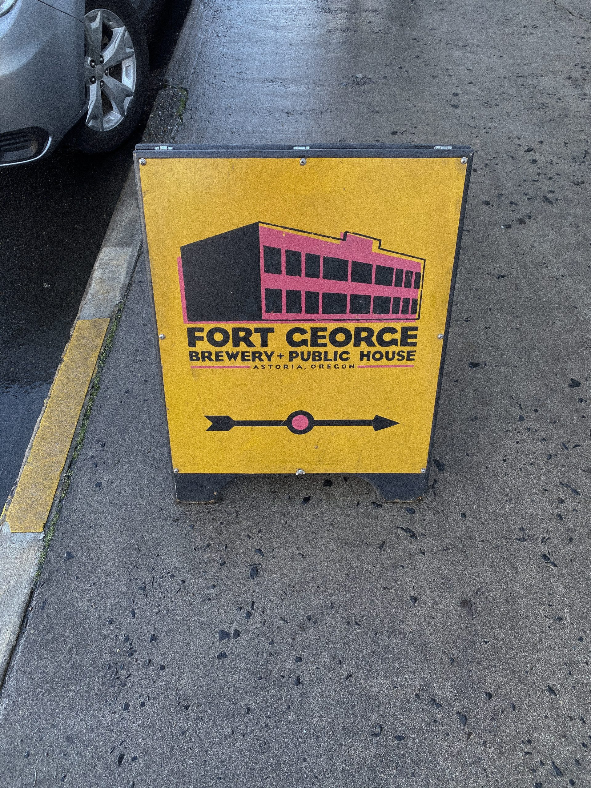 Fort George Public House Sign