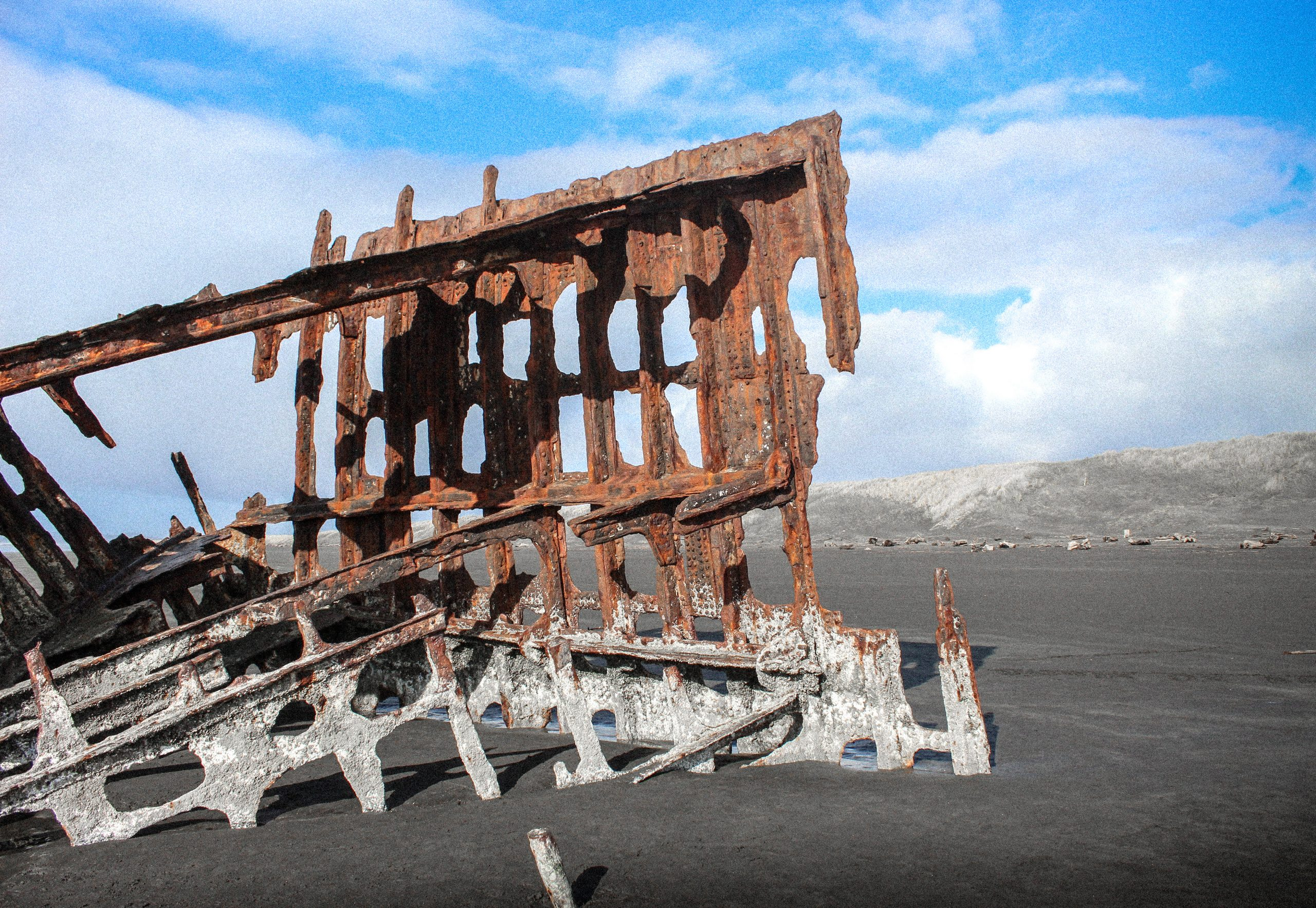 Shopwreck of Peter Iredale