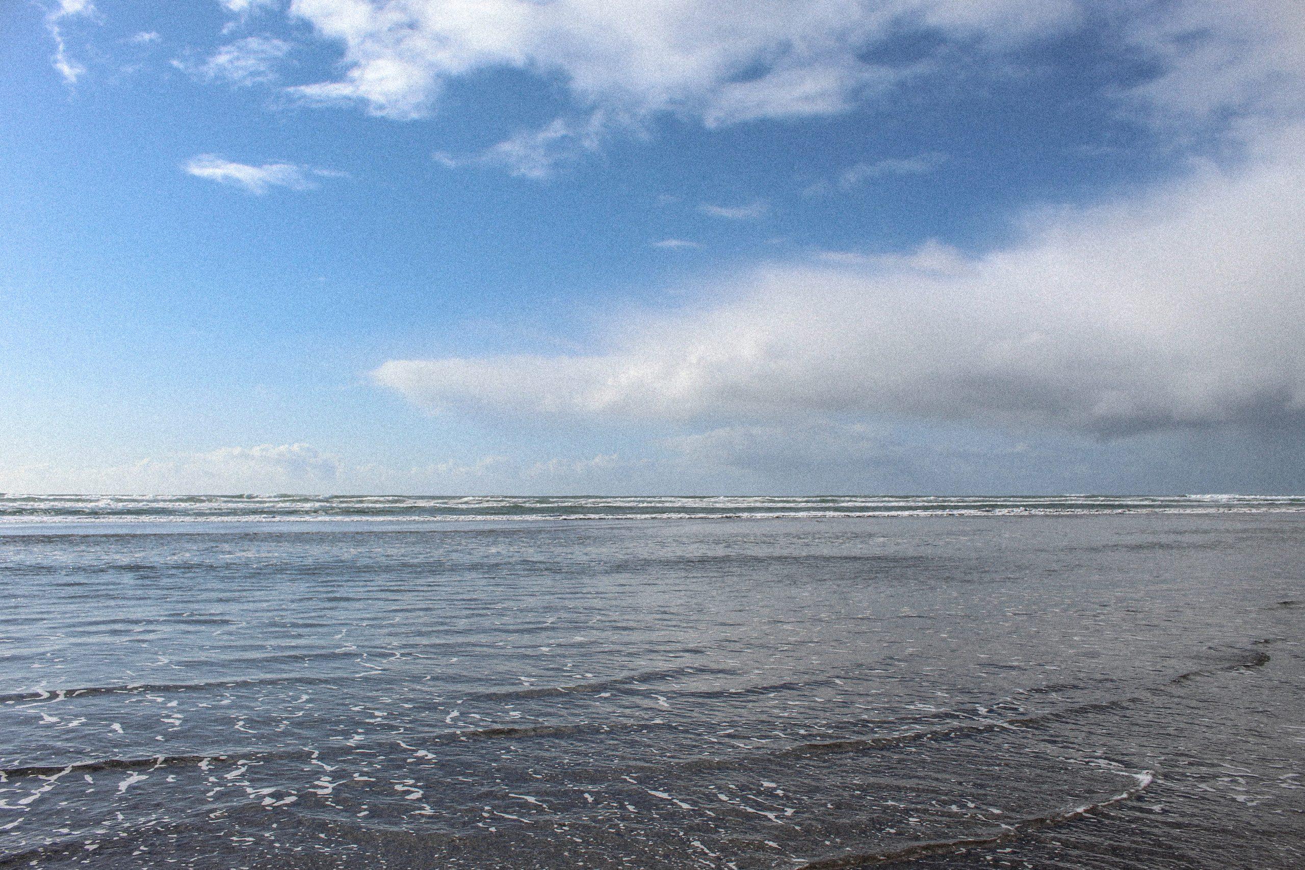 Beach in Astoria, Oregon