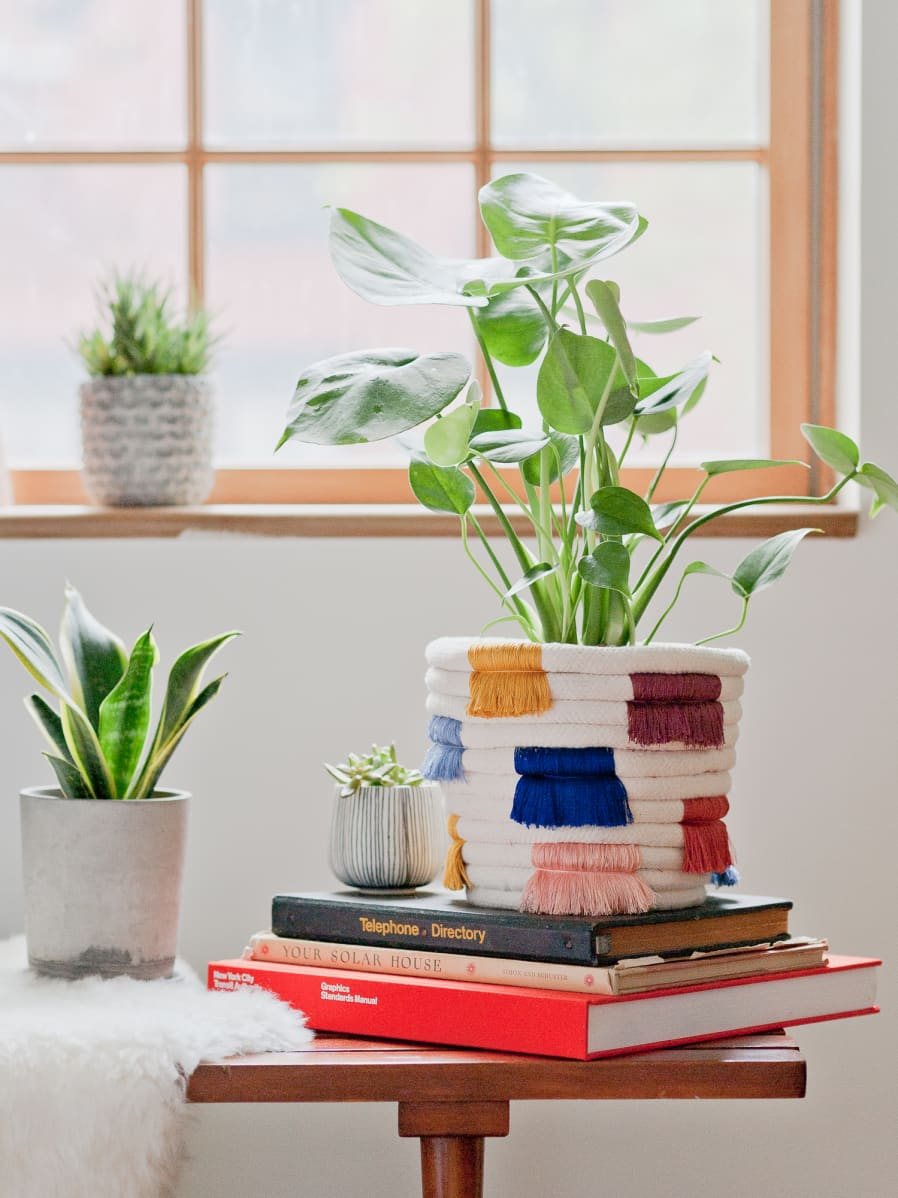 Fringe Pot Planter
