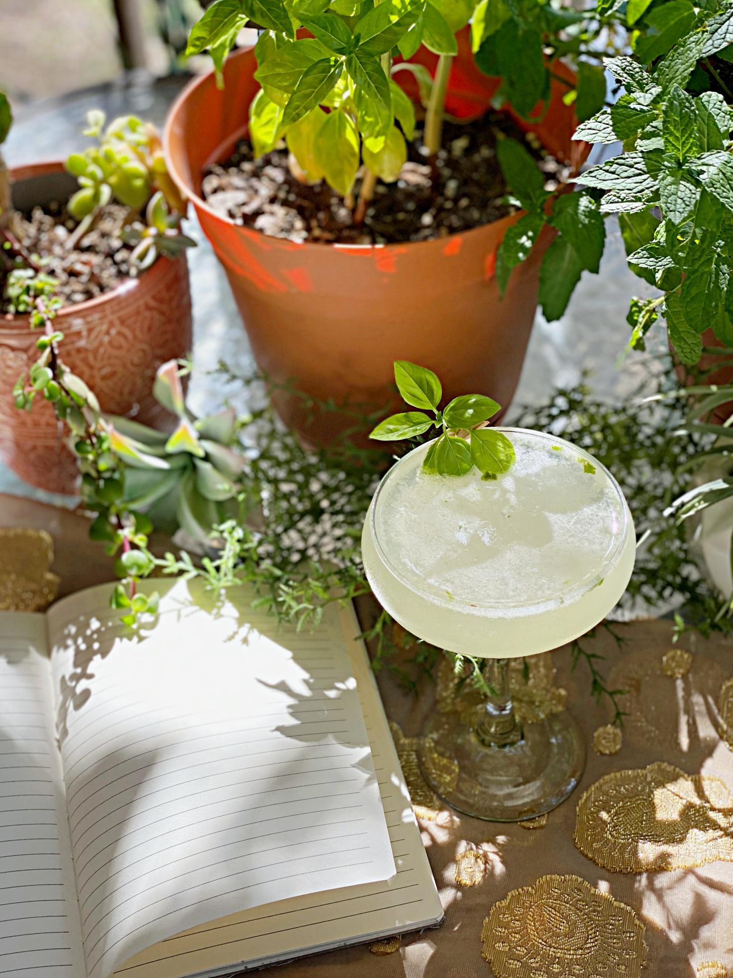 Novelist's Garden Cocktail