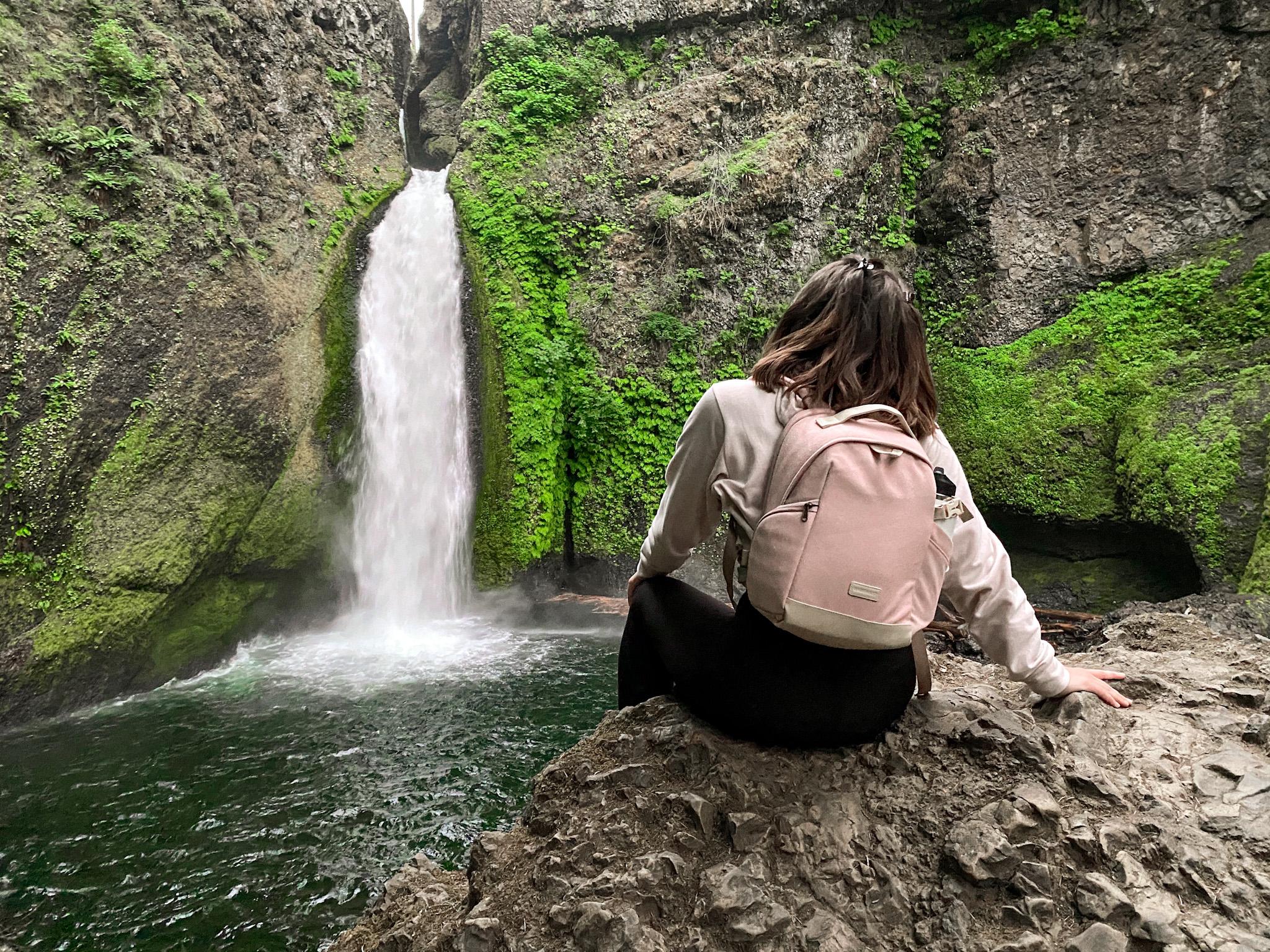 Wahclella Falls Waterfall